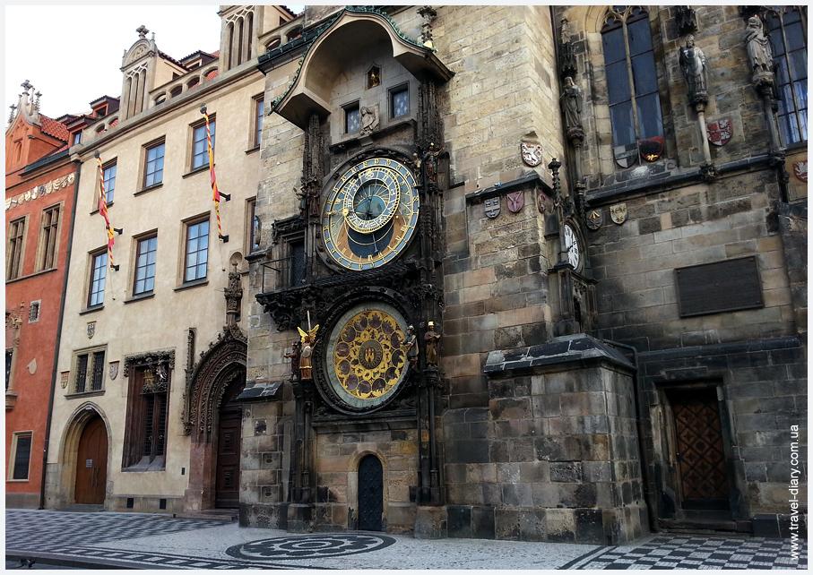 часы на староместской площади Прага