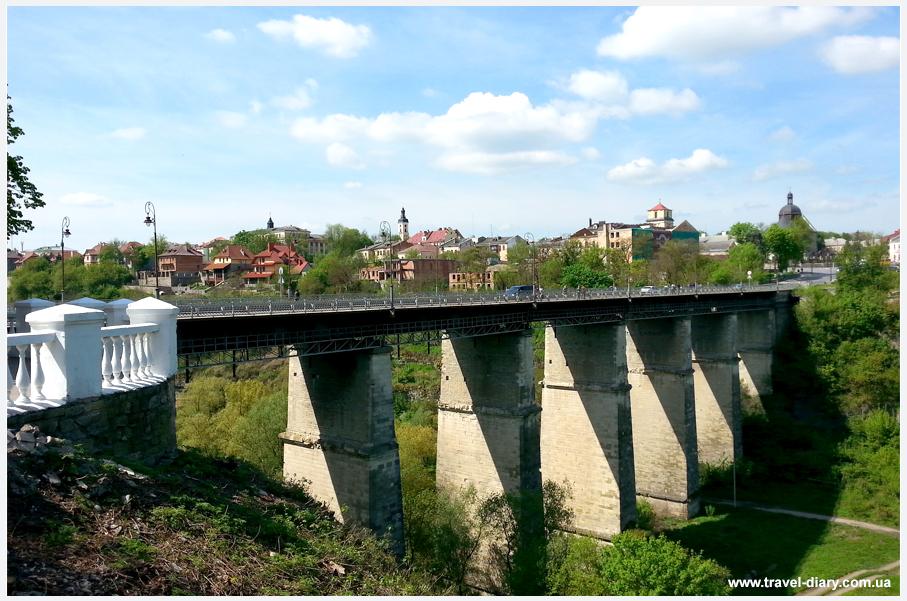 новоплановский мост Каменец-подольский фото