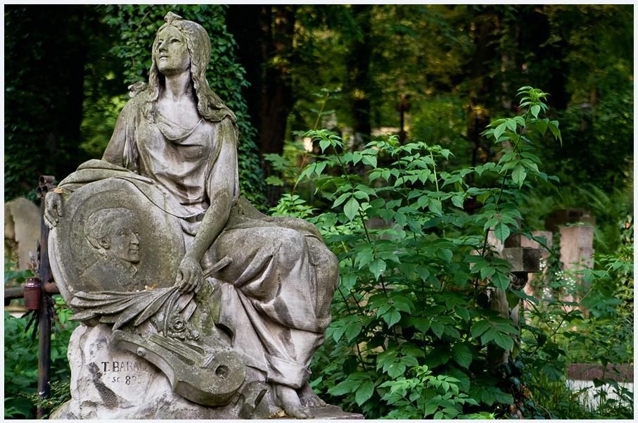 Лычаковское кладбище Львов фото