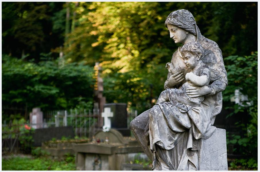 Кладбище во Львове фото