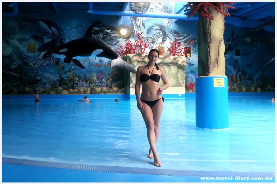 Как сделать фото в аквапарке
